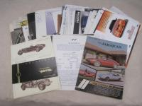 American kit cars, a large qty brochures, flyers and cuttings 1960s onwards
