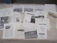 Frazer-Nash, a qty of brochures, flyers and cuttings 1948-58