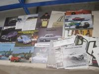 Ford Escort, a range of brochures and flyers 1969 onwards inc' Twin Cam, RS, Mexico etc, a rare grouping