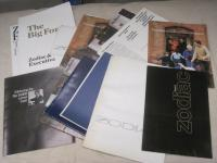 Ford Zodiac and Zephyr brochures, flyers etc 1967-1970