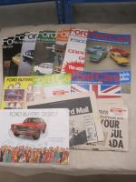 Ford Cars, Buyers Digest, Ford Times, Ford Mail etc, a qty 1970s