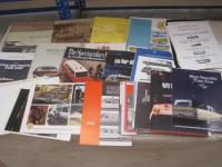 American ambulances and hearses, a good qty of brochures and cuttings 1950s-70s