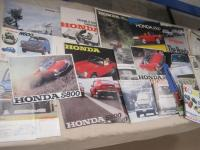 Honda cars, large qty of brochures 1965-69 t/w cuttings and road tests etc