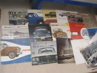 Prince Motors Ltd, qty of car brochures 1956-66, Japanese and English text