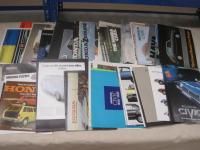 Honda cars, large qty of brochures 1970-79 t/w cuttings and road tests etc