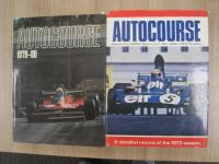Autocourse, 2 vol's with dust jackets, 1973/4 and 1979/80