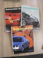 Automobile Year 3 vols with dust jackets, 85/86/91/92, 98/99