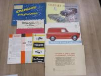 Thames and Standard, 7 brochures for the vehicles 1950s/60s