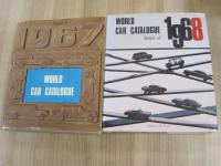 World Car Catalogue, 2 vol's with dust jackets, 1967 and 1968