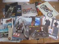Fantic, Garelli, Laverda, Gilera, Benelli, MV Augusta; a qty of flyers and brochures 1970s on (45)