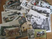 Ducati photos covering singles, twins, bevel, belt, road and racing taken by Mick Walker and others inc' studio, many annotated