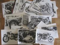 A good archive of black and white photos of British motorcycles taken by Mick Walker and others inc' studio shots, many annotated