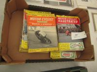 50 copies of Motorcyclist, illustrated from 1958 onwards