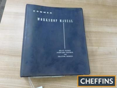 Commer Workshop Manual Covering Heavy Range, Forward Control & Tractor Models