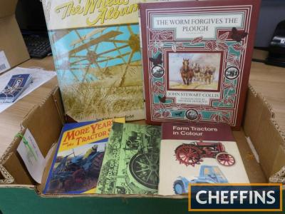 Five volumes on country and tractor themes including `The Worm Forgives the Plough`