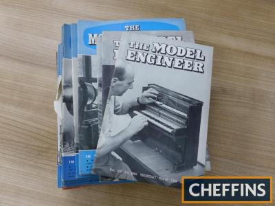 The Model Engineer, a qty of the magazine 1952-1954 (incomplete)