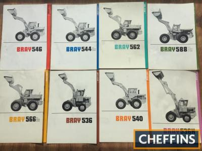 Bray wheel loader brochures