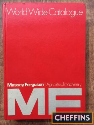 Massey Ferguson World Catalogue of Agricultural Machinery - 1975-76