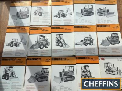 Case 580F digger, wheel loader, skid steer, crawler loader brochures (15)