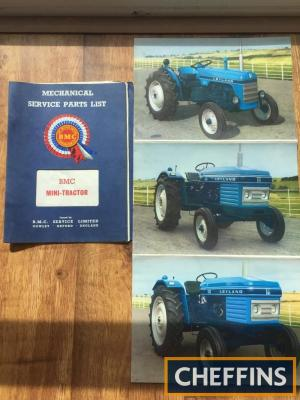 Leyland tractor brochure and manual
