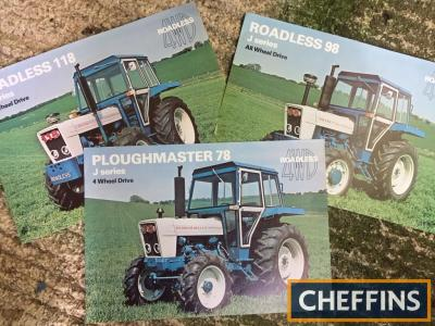 Roadless tractor brochures