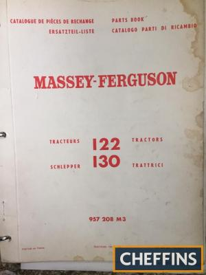 Massey Ferguson 130 tractor manual