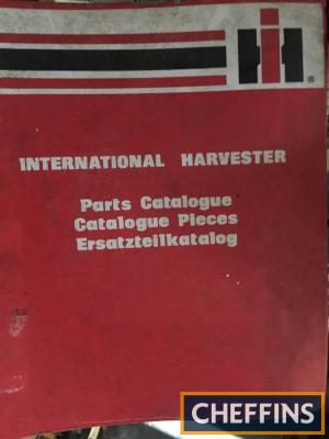 International 454 tractor parts manual
