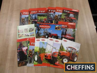 Goldoni, Antonio Carraro, a qty of tractor and machinery brochures and leaflets etc. (20)