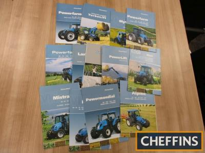 Landini, a qty of agricultural tractor and machinery brochures to include Alpine etc. (14)
