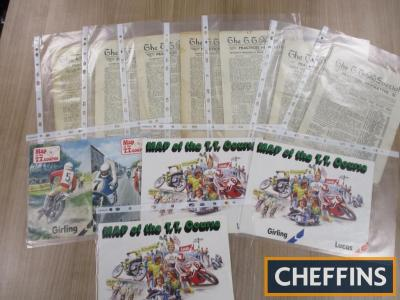 The TT Special and TT Course Maps, a qty