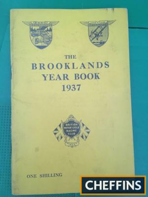 Brooklands year book 1937