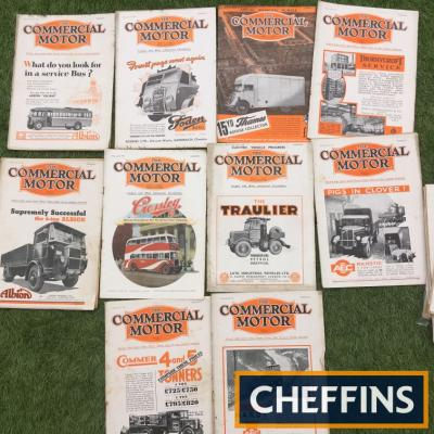 Commercial Vehicle magazines from 1930s (10)