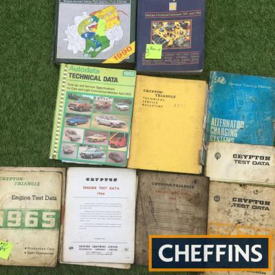 Tuning manuals Crypton 1965-72, 1990 Haynes fuel injection, Autodata for cars, light commercials