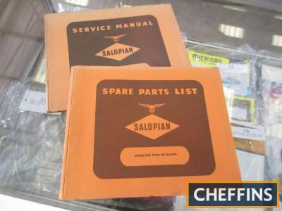 Two Salopian baler manuals and parts book