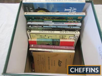 Box of 10 assorted tractor books