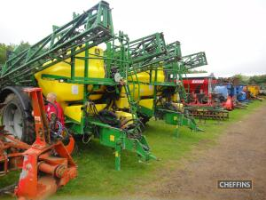 Agricultural Machinery to be held at The Machinery Saleground, Sutton, Ely, Cambs, CB6 2QT