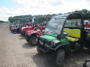 ATV's, RTV's, Horticultural Equipment to be held at The Machinery Saleground, Sutton, Ely, Cambs, CB6 2QT
