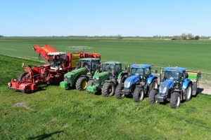 J Gilbert & Sons - Auction sale of well maintained agricultural tractors, harvester, potato growing and grading equipment and machinery - Littleport, Cambs