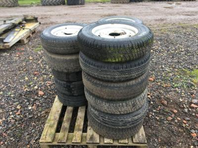 Pallet of Ifor Williams Trailer Wheels & Trailer Parts UNRESERVED LOT