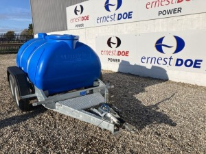 2019 WESTERN GLOBAL HIGHWAY WATER BOWSER NEW & UNUSED 2000 LITRE COLOUR: BLUE - (SERIAL NO 19101116) (11167403) (MANUFACTURERS WARRANTY APPLIES)