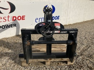 2019 CHERRY CHW2C BALE HANDLER EX DEMONSTRATION BALE HANDLER MANITOU BRACKETS SOME RUST AND SCUFFS, NO HYDRAULIC COUPLINGS - (SERIAL NO J4921) (11172106)