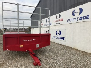 2020 MARSHALL TRAILERS BC25 10T BALE TRAILER NEW & UNUSED 25FT 10T BALE TRAILER, REAR TOOLBOX HARVEST LADDERS WALKING AXLES, 6 STUD 335/80 R15.3 TYRES HYDRAULIC BRAKES - (SERIAL NO 107026) (11173574) (MANUFACTURERS WARRANTY APPLIES)