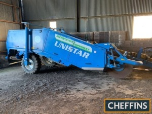 2011 Standen Unistar soil separator with 10 rows of large diameter stars, rear under web, hydraulic driven top scrubber web, multi-blade shares, in fill rings on first 5 star shafts, hydraulic levelling and steering axleSerial No. 161Location: Near St Ive