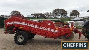 2013 Grimme CW170 Combi-Web soil separator fitted with intake rotorflow rotor, 2no. rows of stars, 32mm 1st web, single row of stars, 32mm second web and hydraulic top scrubber web Serial No. 96000899 Location: Near Kings Lynn