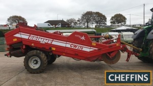 2010 Grimme CW170 Combi-Web soil separator fitted with intake rotorflow rotor, 2no. rows of stars, 32mm 1st web, single row of stars, 32mm second web and hydraulic top scrubber web Serial No. 96000531 Location: Near Kings Lynn