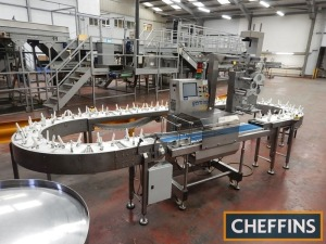 Gemini Solo weigher and track conveyor with large holders, printer and label head Serial No. S101013 Location: Near Taunton