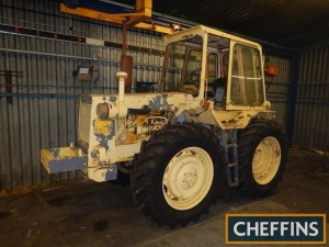 1978 MUIR HILL 111 4wd TRACTOR On 420/85R34 wheels and tyres. Vendor has applied for a V5 Reg. No. VJF 754S Serial No. 11120595
