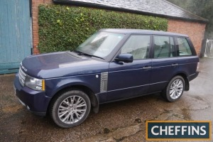2011 RANGE ROVER Autobiography TDV8 6speed auto CAR V5C available Reg. No. VK11 NBM Serial No. SALLMAMJ3BA353911 Mileage: 64,759 MOT until: 18/3/2022