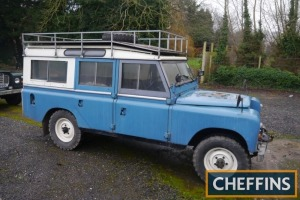 1972 LAND ROVER 109ins diesel STATION WAGON Ex-RAF/MOD. V5C available Reg. No. LIL 6292 Serial No. 93600263A Mileage: 91,932