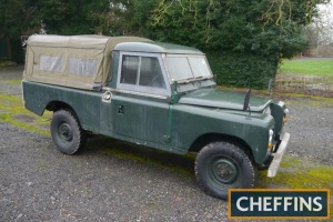 1972 LAND ROVER 109ins petrol STATION WAGON Same ownership from new. V5C available Reg. No. HNR 896L Serial No. 91102163B Mileage: 67,236 FDR: 20/02/1973